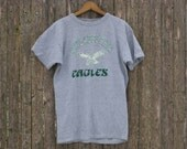 Vintage Philadelphia Eagles Champion Tshirt Mens Large