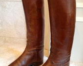 Vintage Leather Riding Boots and Forms
