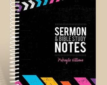 Sermon Notes for Teen Girls / Premium Sermon Notebook