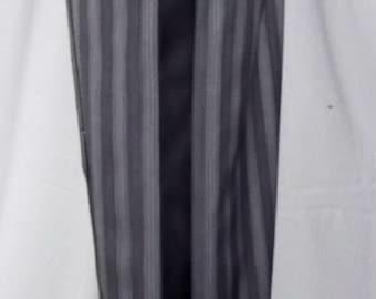 Men's Steampunk Pant Victorian Wedding Trouser Striped Tuxedo Pant