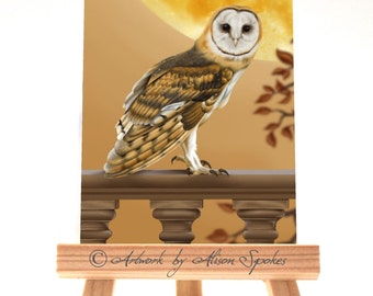 ACEO - Barn Owl Limited Edition