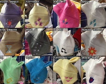 My Little Pony Friendship is Magic MLP Fleece Hat Assortment
