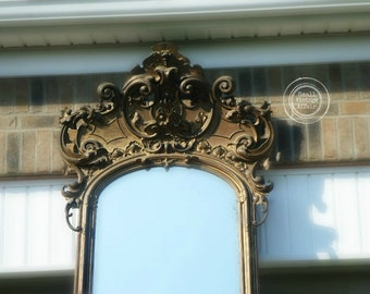 P I E R ,   Antique Mirror, Romanesque Mirror, Dressing Mirror Shabby Chic