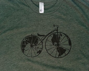 Worldshaker T-Shirt - Green - Heather Forest - Men's - XL