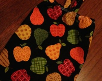 Plastic Bag Holder and Dispenser - Colorful Apples & Pears