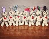 Crochet Voodoo Doll Pincushion Amigurumi MADE TO ORDER
