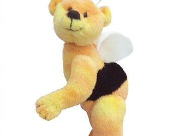 Bumble Bear soft toy teddy bear digital sewing pattern