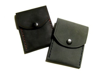 Leather Business Card Holder or Card Wallet