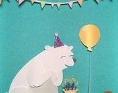 BEAR-thday Card