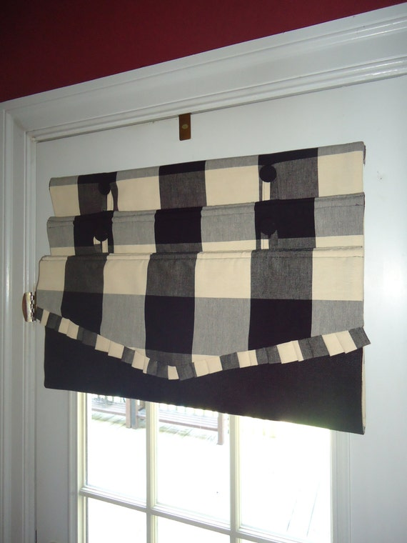 French Door cordless Roman Shades - DIY -Downloadable Instructions ...