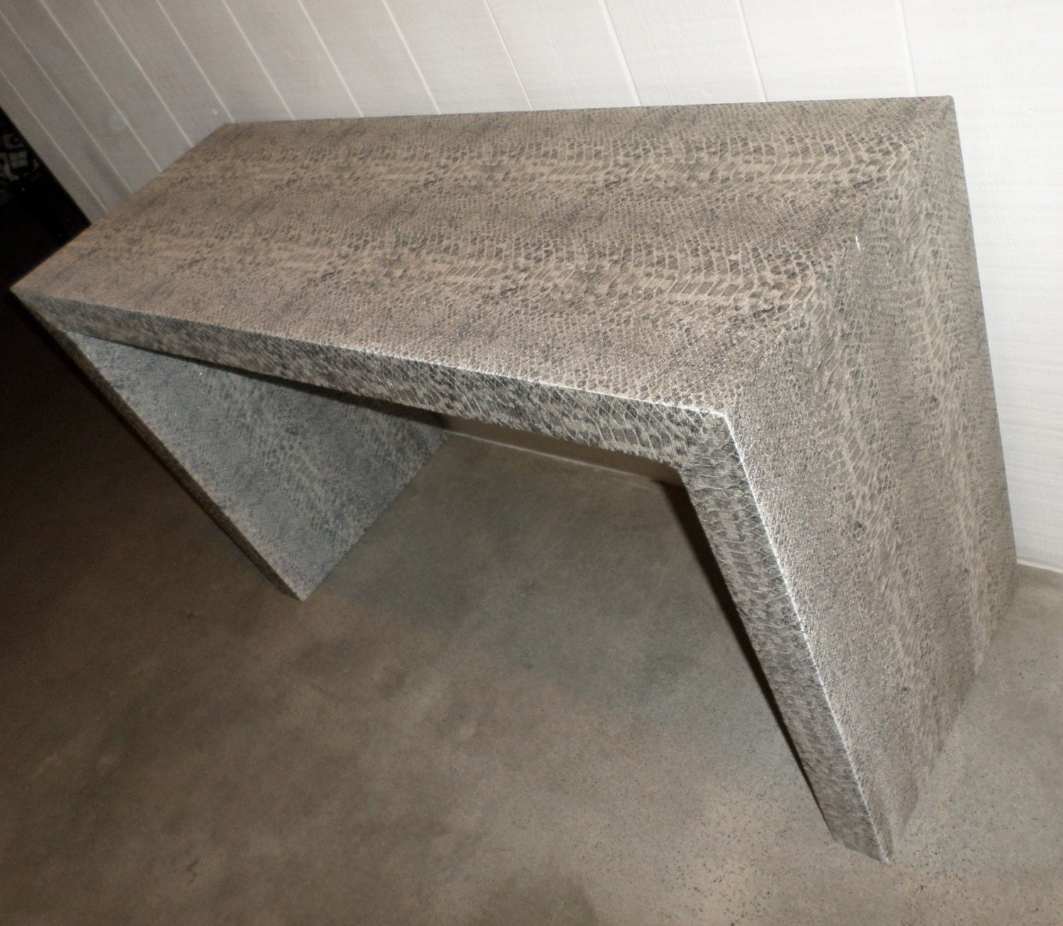 Custom Built Waterfall Parson S Console Table Design