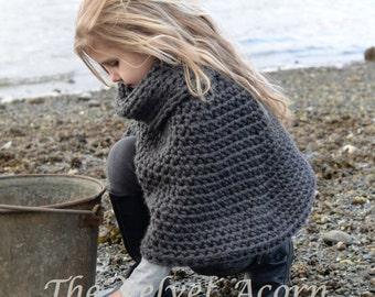 Knitting Pattern Azel Pullover 2 3/4 5/7 8/10 11/13