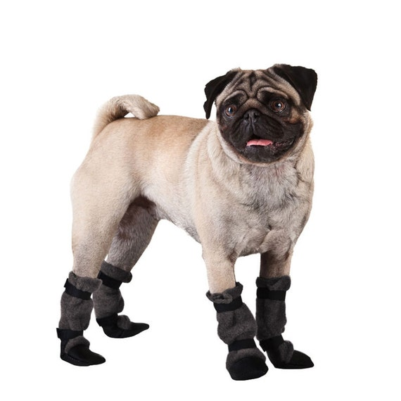 Pug Dog Booties Dog Booties Dog Boots Dog Shoes Dog