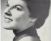 Anita Bryant Arcade Exhibit Card Publicity Shot Recording Artist Photograph Photo 1960s Singer