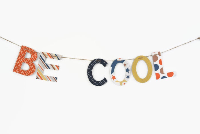 Custom Name Banner ~ Fabric Banner ~ Kid's Room Decor ~  Photo prop ~ OLIVER Collection