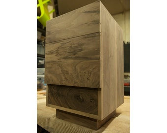 Items similar to end table night stand with hidden secret compartment