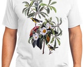 Bachmans Warbler Bird Retro Men & Ladies T-shirt - Gift for Bird Lovers and Ornithologist (idc185)