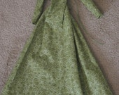 GREEN SD13/60cm Steampunk/Victorian Dollfie BJD dress
