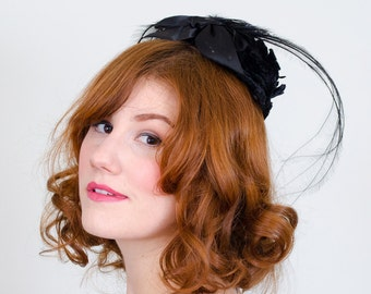 1960s vintage hat / fascinator / Therese Ahrens