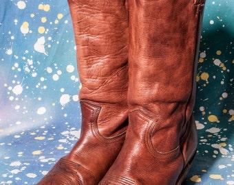 Men's FRYE Cowboy Boots Size 9 .5