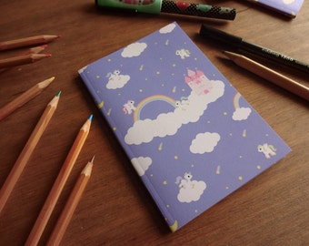 A6 Recycled Notebook • Pretty Ponies