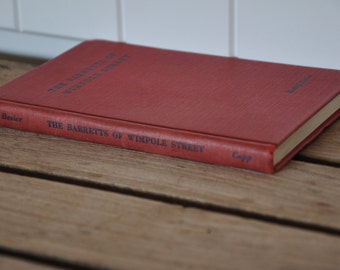 Book: The Barretts of Wimpole Street, a comedy in 5 acts, by Rudolf Besier 1930