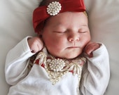 Girls Red Bow Headband Hair Accessories