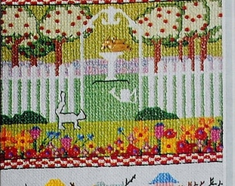 75%OFF Nan Leach HOME SWEET Home Sampler - Counted Cross Stitch Pattern Chart - fam