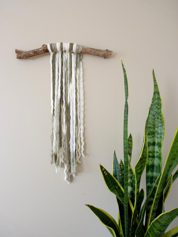 Yarn wall hanging macrame bohemian wall hanging for Yarn wall hanging