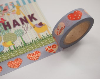 Crazy Sales - Heart Washi Tape (10M)