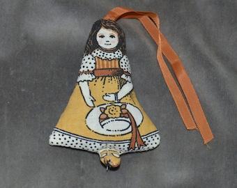 Vintage Sachet Doll Ornament