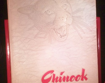 The Chinook 1947 Annual Publication of the Students State College of Washington Yearbook Year Book