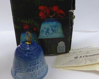 Bing & Grondahl 1980 Bell Christmas In The Woods