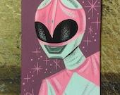 Artist Trading Card: Pink Ranger