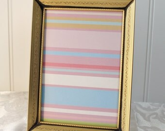 Vintage Gold Metal Photo Frame