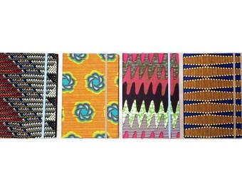 AFRICAN Wax Print Journals (Various)