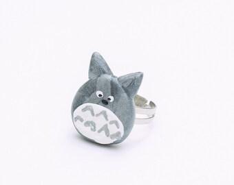 Totoro Ring - adjustable