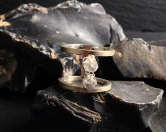 Quartz Ring - Sterling Silver