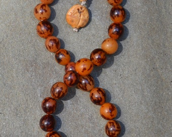 27 bead tiger buri prayer mala 2741