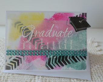Happy Graduation Colorful Card
