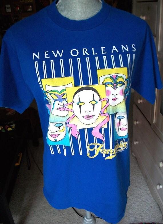 Vintage 1990s mardi gras new orleans celebration novelty for T shirt printing new orleans