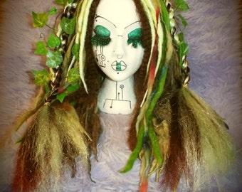 Dread Falls Dreadlocks Cyber Falls Kanekalon 'Faerie Falls' Woodland Elf