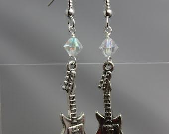 Electric Guitar Earrings