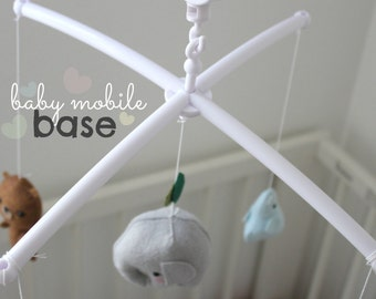 BABY MOBILE BASE, build your baby mobile, crib mobile, crib mobile base, do-it-yourself