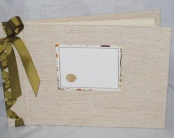 Brown Tweed Shell Album