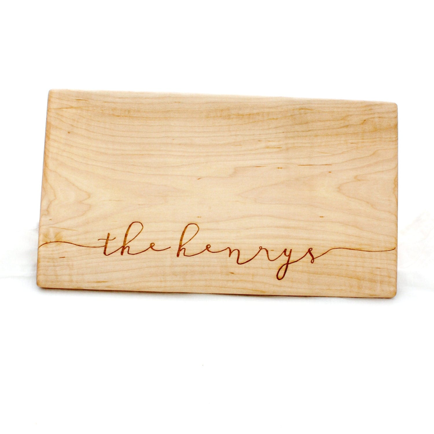 Personalized Cutting Boards ~ Personalized cutting board last name wood by