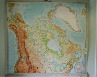 Classroom Map of Canada