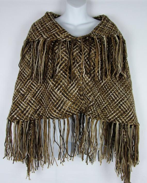 Loom Knitting Poncho : Loom knit handmade poncho by mwlforu on etsy