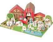 The Farm Paper Toy - DIY Paper Craft Kit - Paper Toy