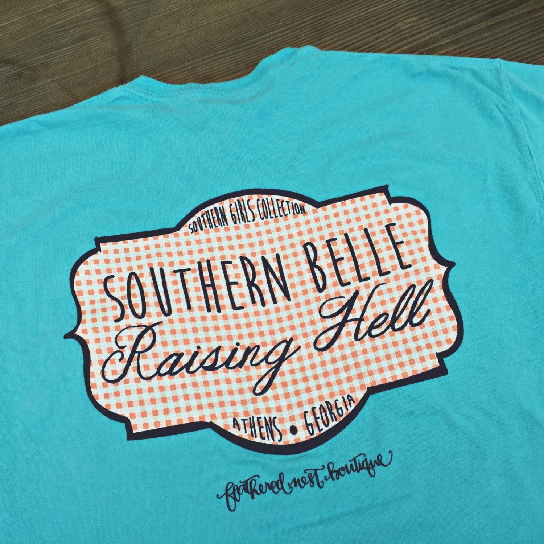 Southern Belle Monogram Shirt Southern Belle Monogrammed